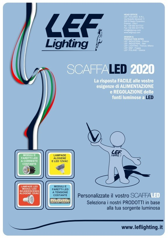 ScaffaLED 2020 Brochure