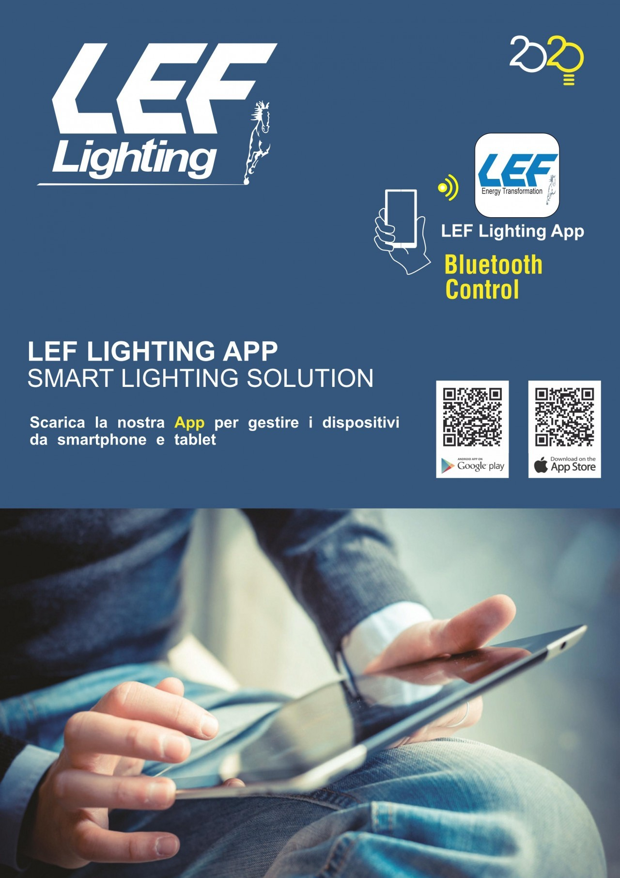 Bluetooth LEF Lighting APP