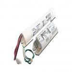 KIT di EMERGENZA per LAMPADE FLUORESCENTI MAX 18W Autonomia 1 ora Batterie lineari 3,6V 1,6Ah