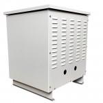 BOX TRAFO 390X390X535MM RAL 7035 IP23.