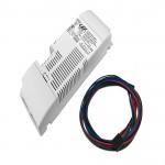ALIMENTATORE LED TENSIONE COSTANTE 24Vdc 2X50W IP20 2 CANALI Dimmerabile 2 PULSANTI /DALI